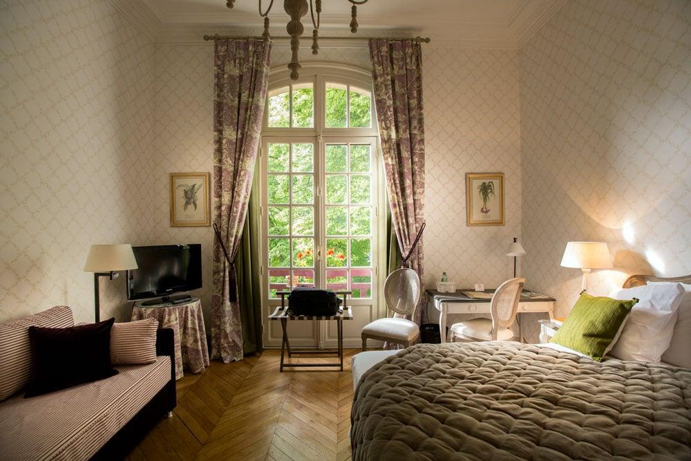 Chacune présente un décor et un charme spécifique dans un environnement extrêmement calme et verdoyant.