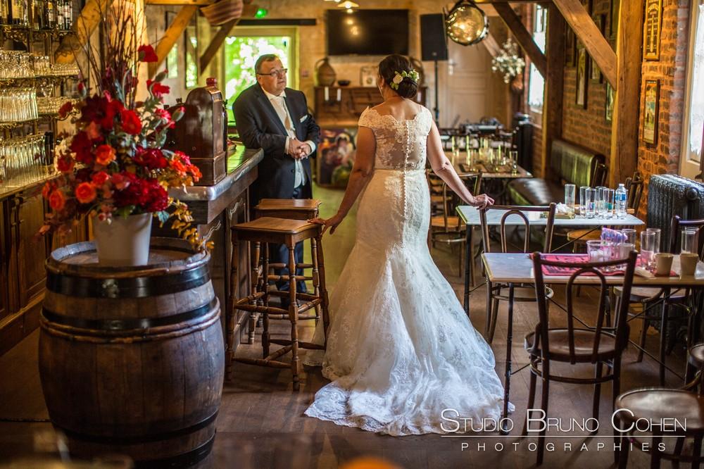Mariage Intime Dans Un Cadre Atypique Au Moulin A Vent Bistrot