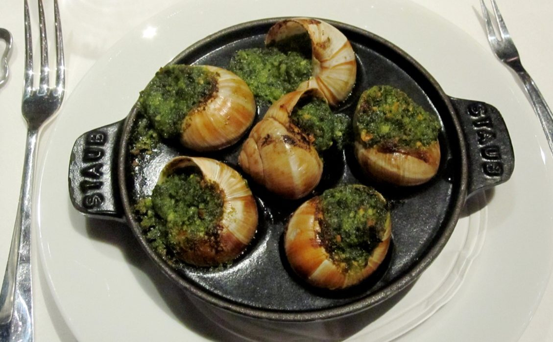 Suggestion du Chef : soirée escargots