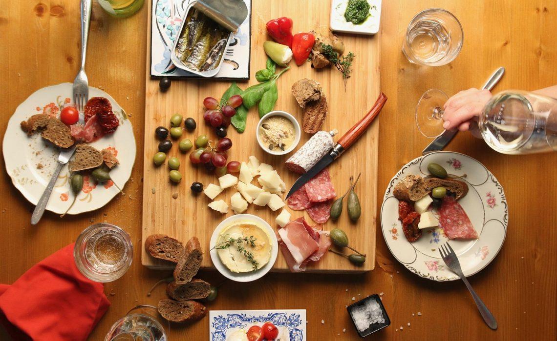 Soirée plat unique : planche italienne