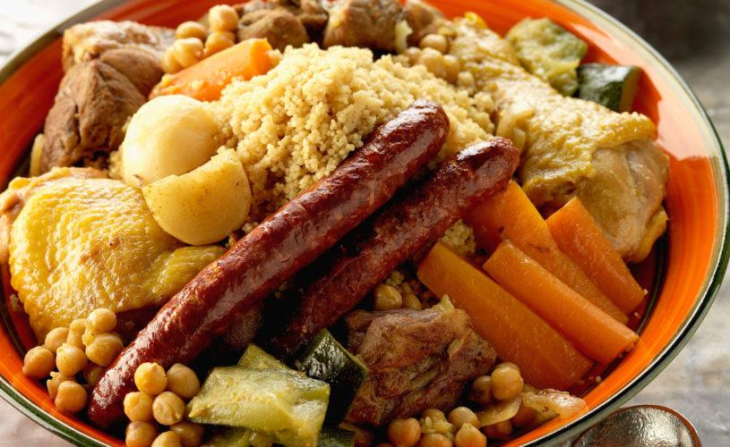 Soirée plat unique : couscous royal