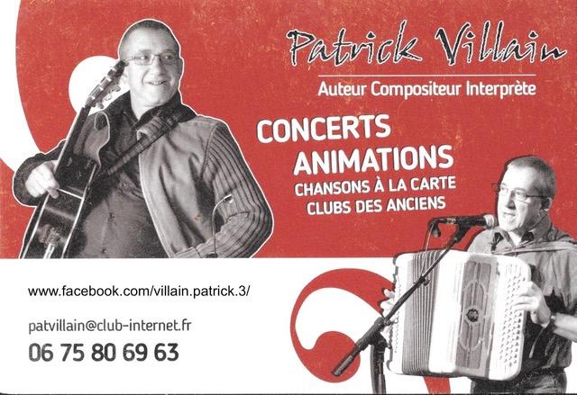 03-07 Soirée chansons françaises
